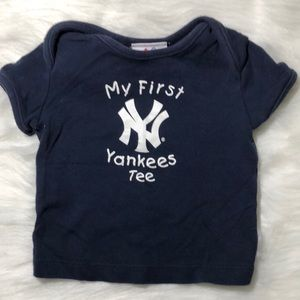 3/$25 Baby's My First Yankees Tee